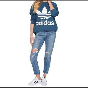 Adidas originals oversized sweatshirt XS